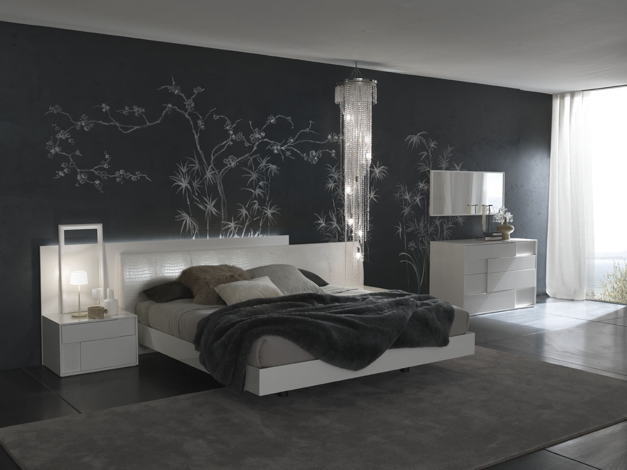 contemporary-bedroom-decor-with-nice-interior