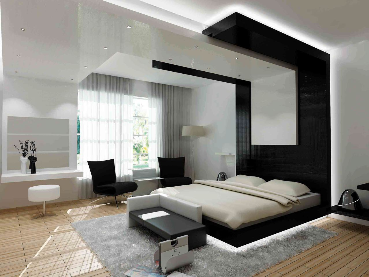 30 Contemporary Bedroom Design For Your Home - The WoW Style on Room.decor  id=62386