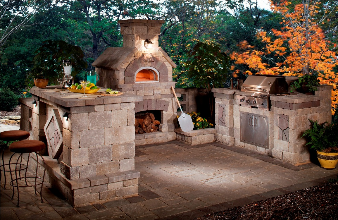 30 rustic outdoor design for your home for Backyard kitchen design ideas