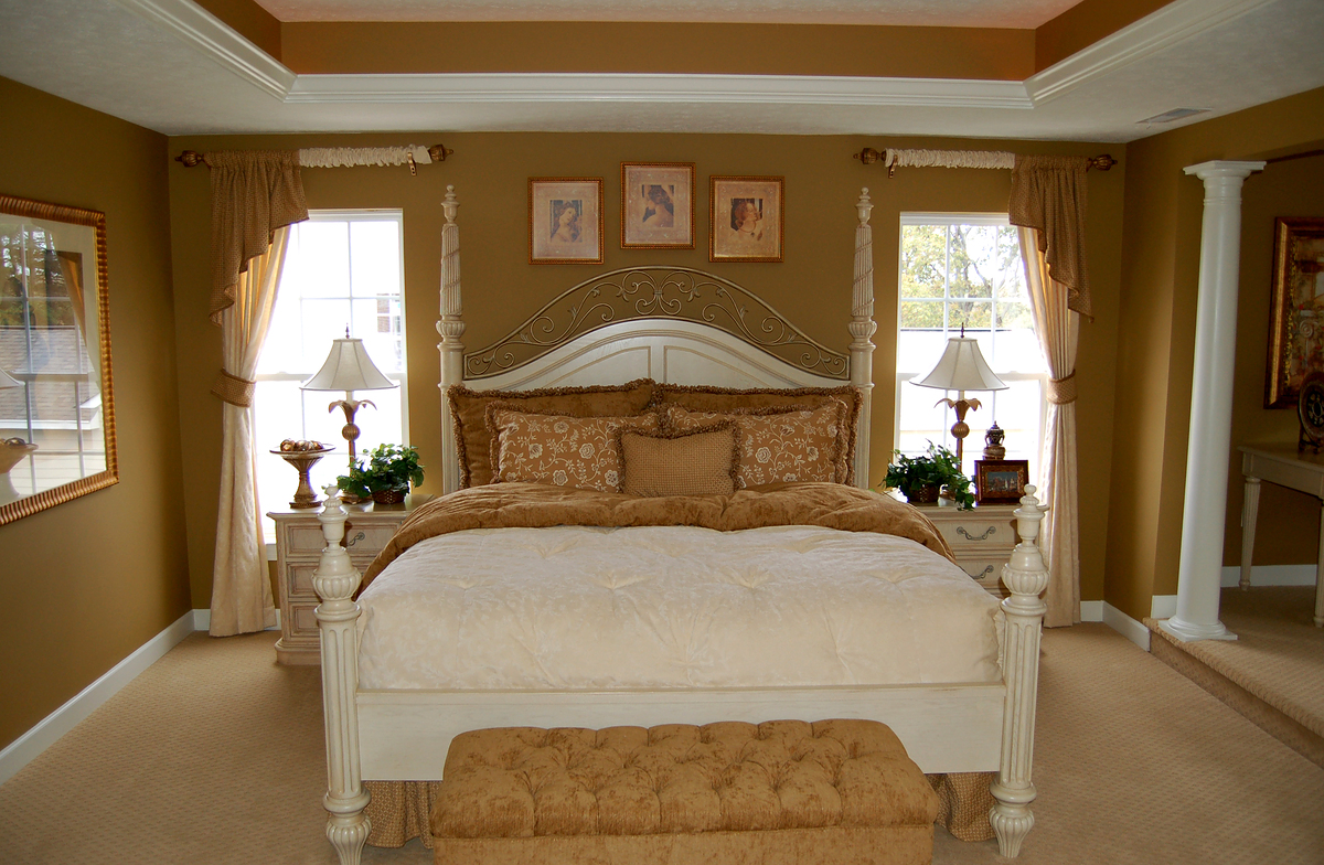 45 master bedroom ideas for your home for Master bedroom layout