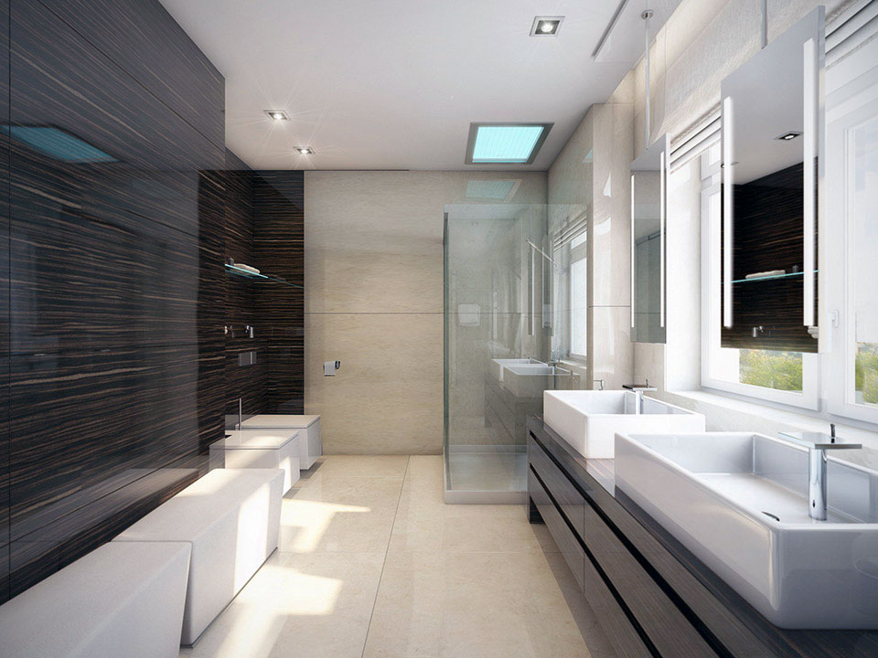 bathroom design modern inspiring house | 33 Modern Bathroom Design For Your Home – The WoW Style