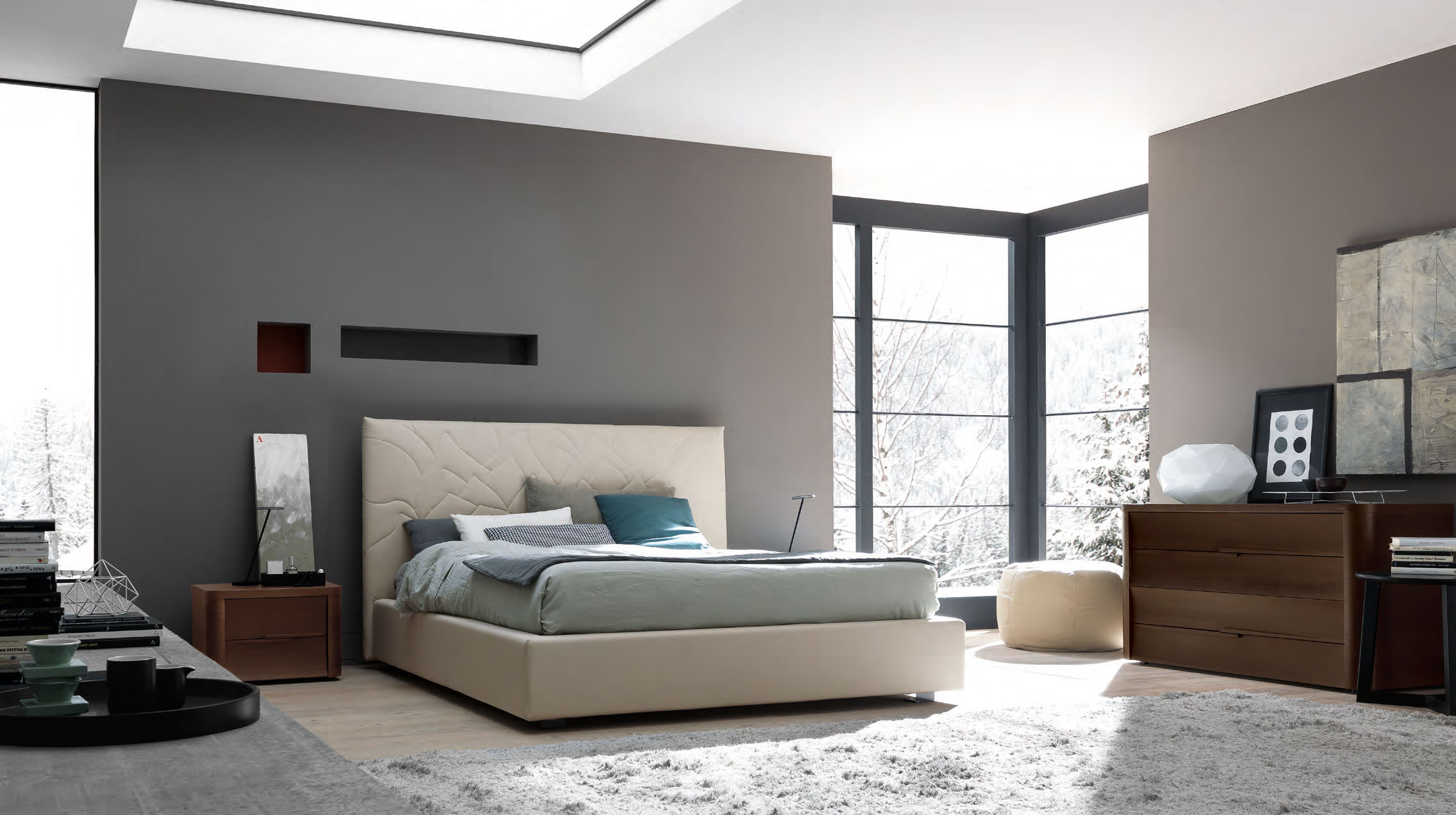 40 modern bedroom for your home the wow style for Pareti colorate casa moderna