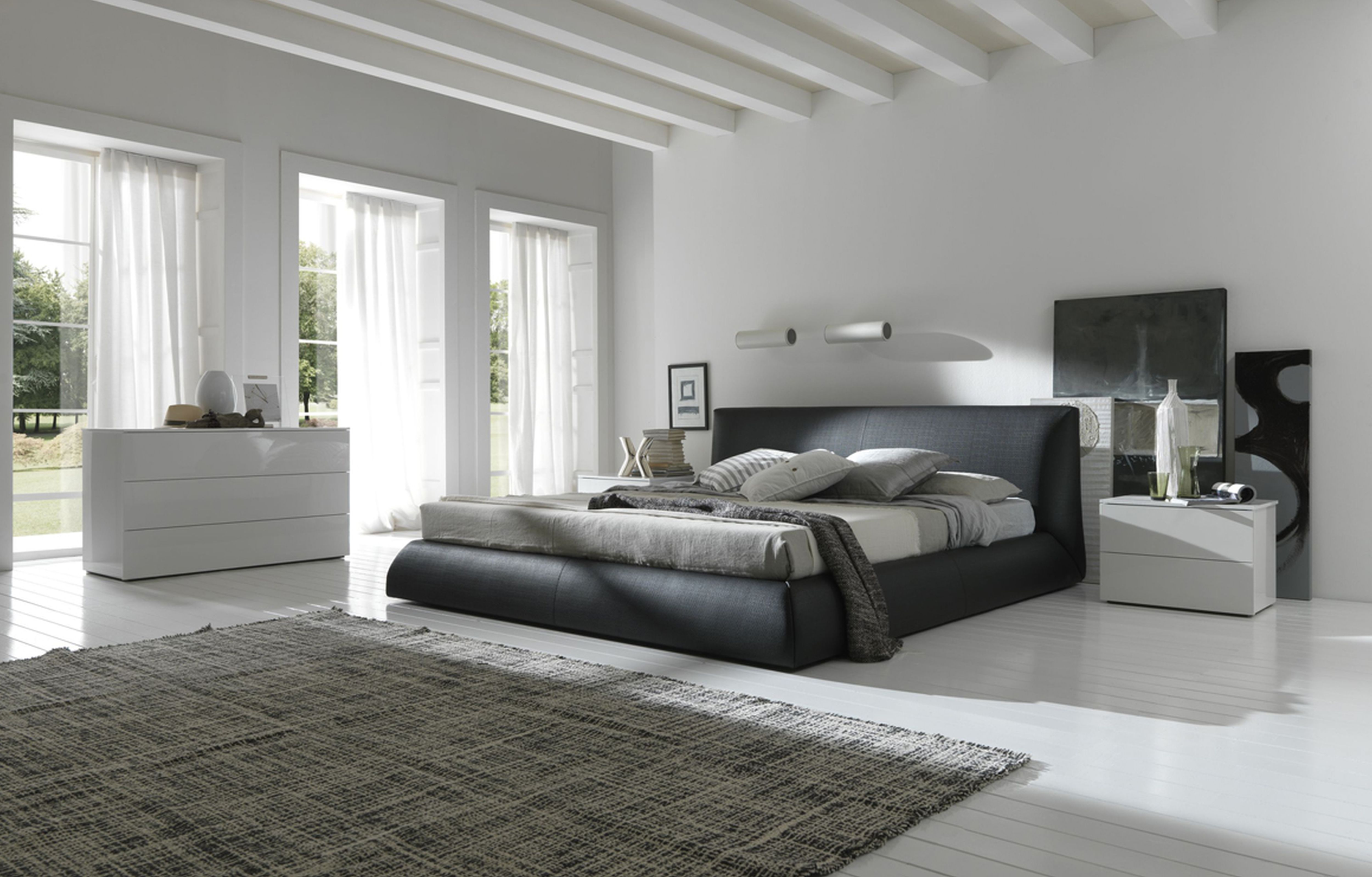 40 modern bedroom for your home for Stylish modern furniture