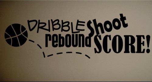 5pcs-lot-Wall-Decal-Art-Sticker-font-b-Quote-b-font-Vinyl-Basketball-Dribble-Shoot-Kids