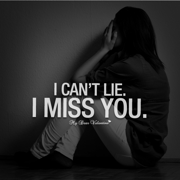 I Miss You Quotes For Him: 30 Best I Miss You Quotes