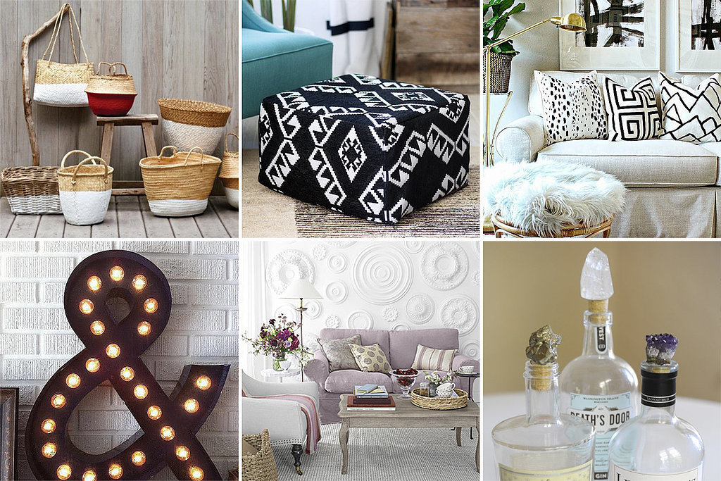 40 diy home decor ideas for Home decorating materials
