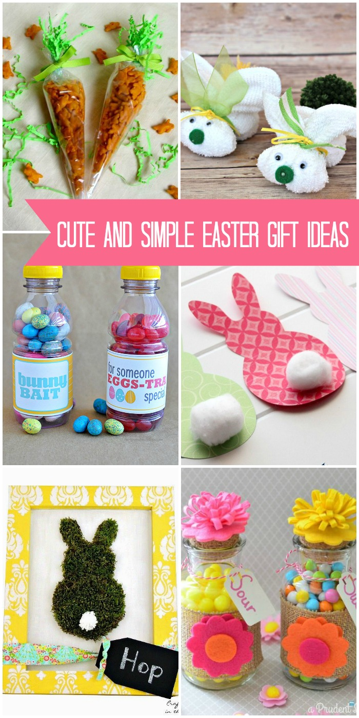45 best easter gift ideas cute and simple easter gift ideas cute easter negle Gallery