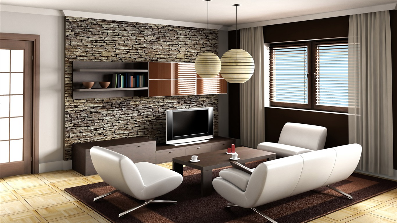 30 best living room wallpaper ideas for Living room wallpaper design