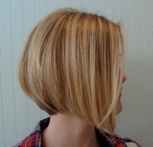 Side-View-of-Graduated-Bob-Hairstyle