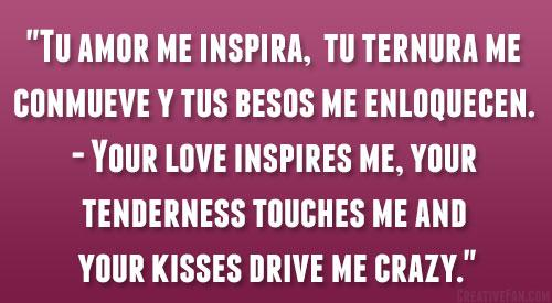 Spanish Quotes About Love Delectable 48 Romantic Spanish Love Quotes