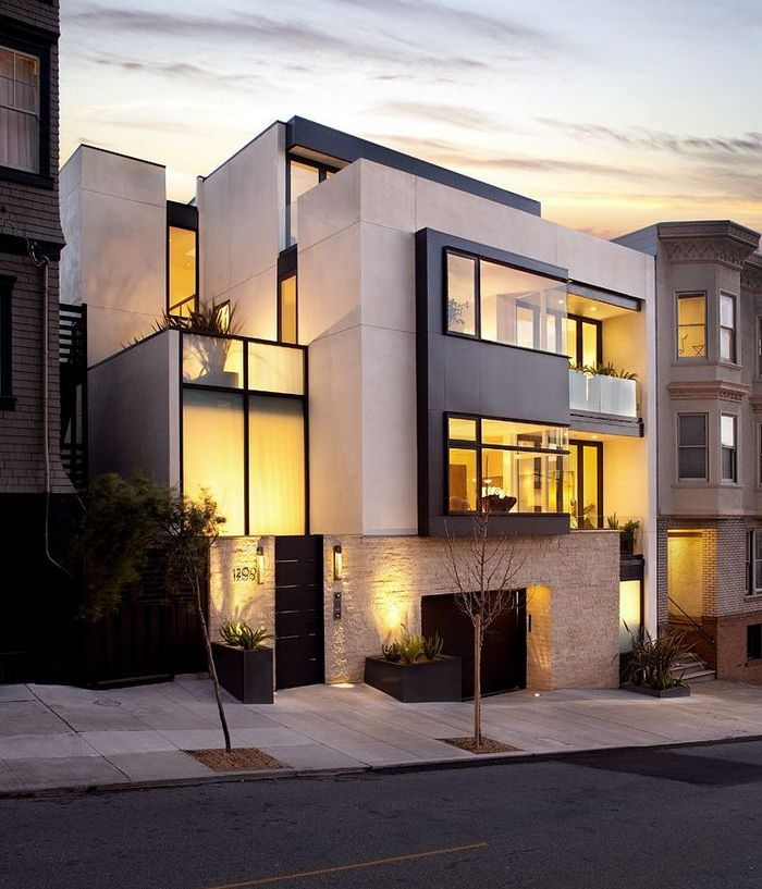 30 Contemporary Home Exterior Design Ideas - The WoW Style