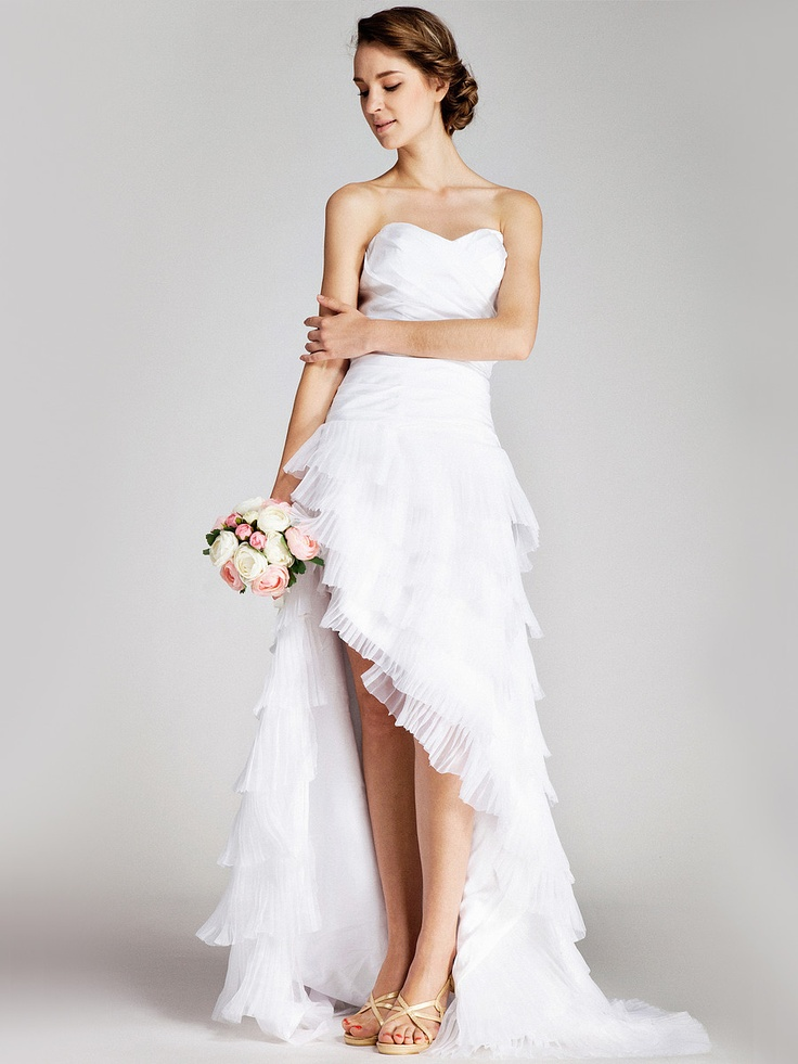 25 beautiful beach wedding dresses Dresses for wedding reception