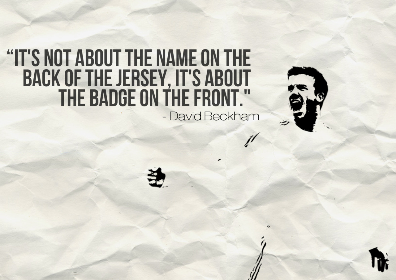 By David Beckham Soccer Quotes. QuotesGram
