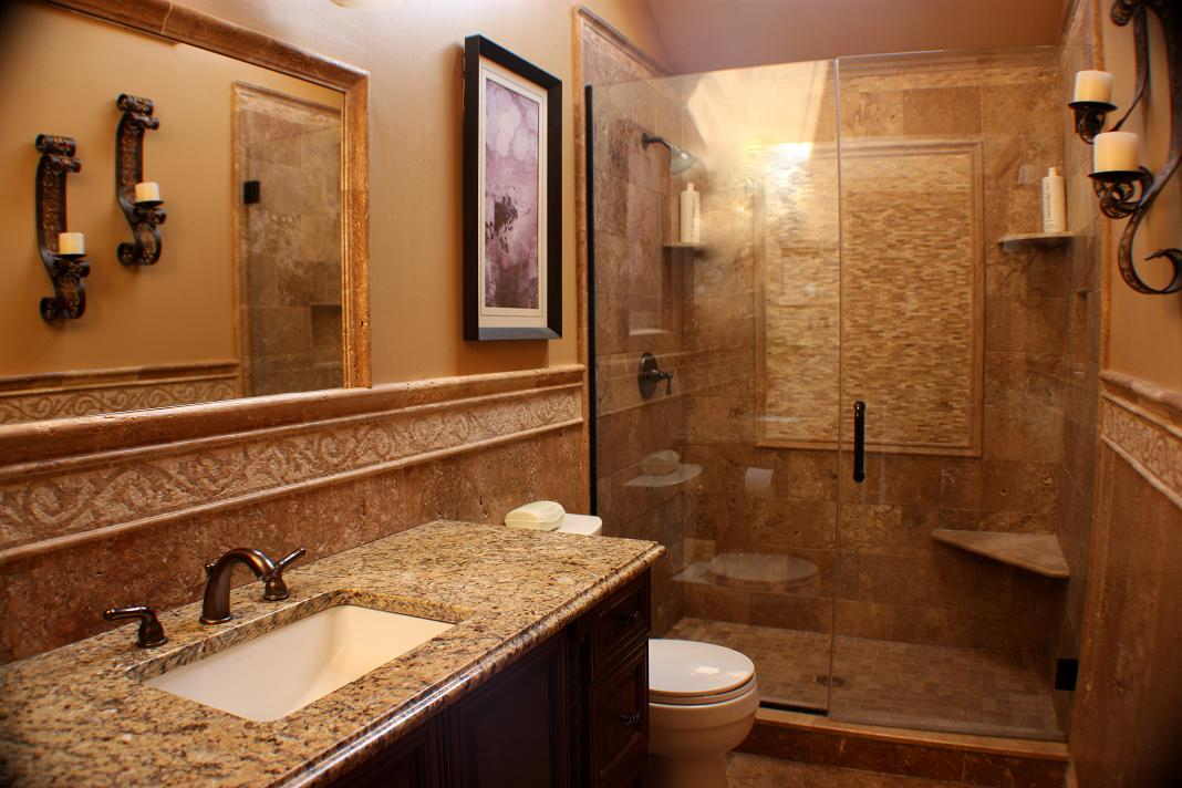 25 best bathroom remodeling ideas and inspiration for Bathroom remodels for small bathrooms
