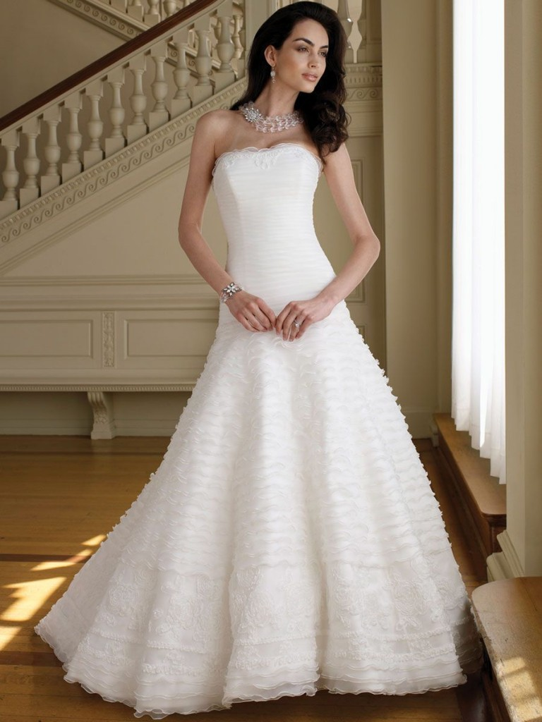 27 elegant and cheap wedding dresses With wedding dresses cheap