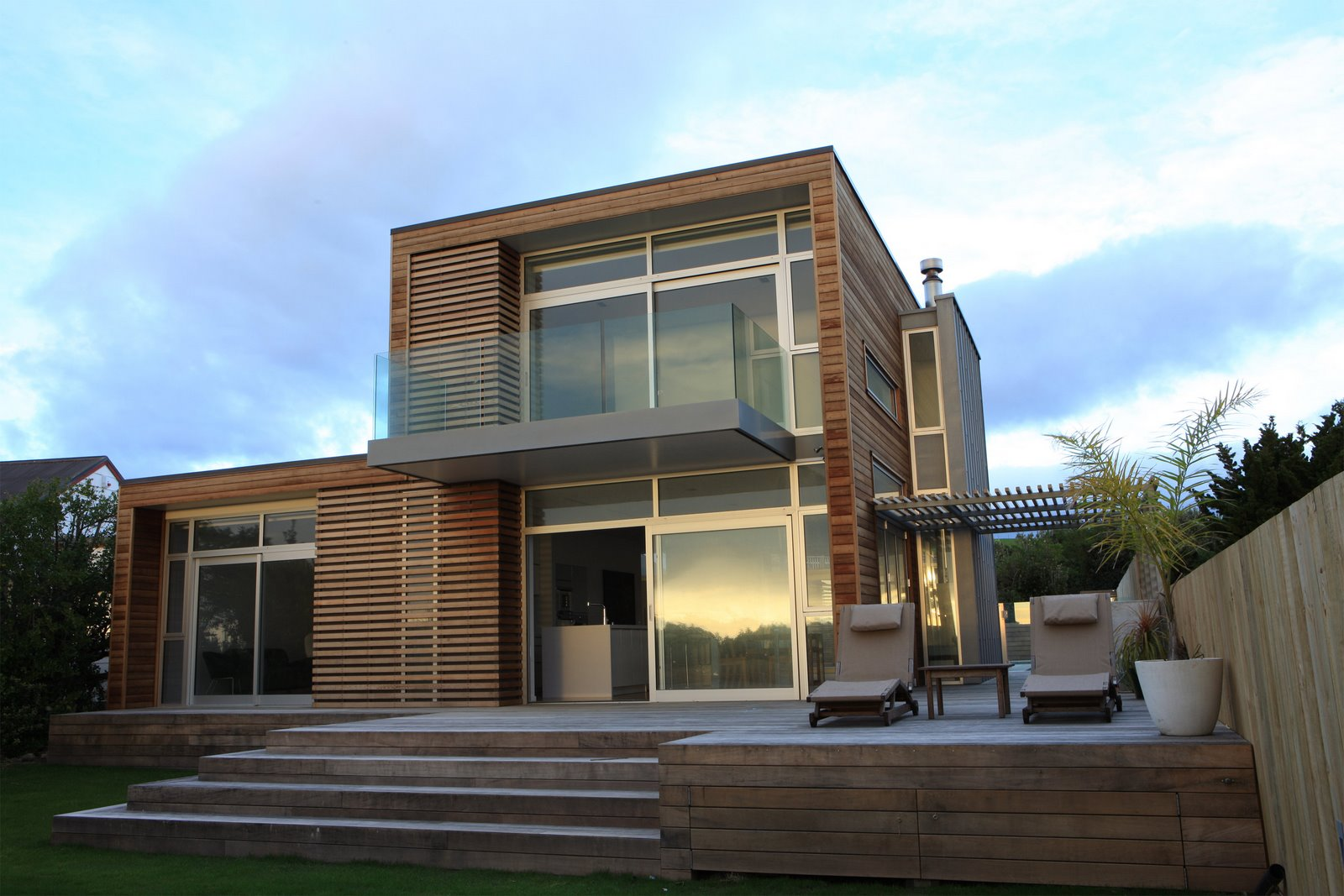 25 awesome examples of modern house for Coastal home designs nz