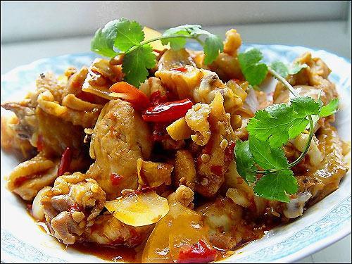 Spicy Chicken with Onion Stir-fry Recipe