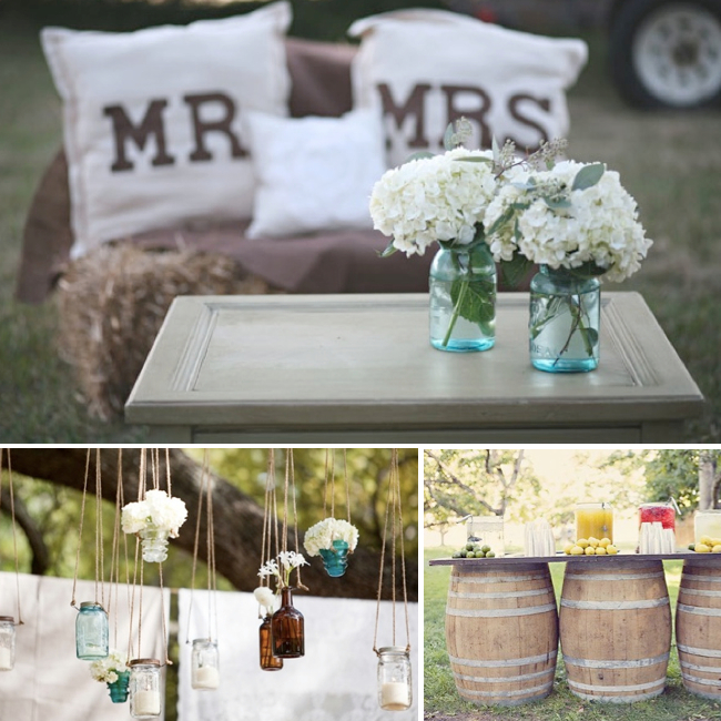 Country Wedding Centerpieces Ideas: 25 Unique Wedding Ideas To Get Inspire