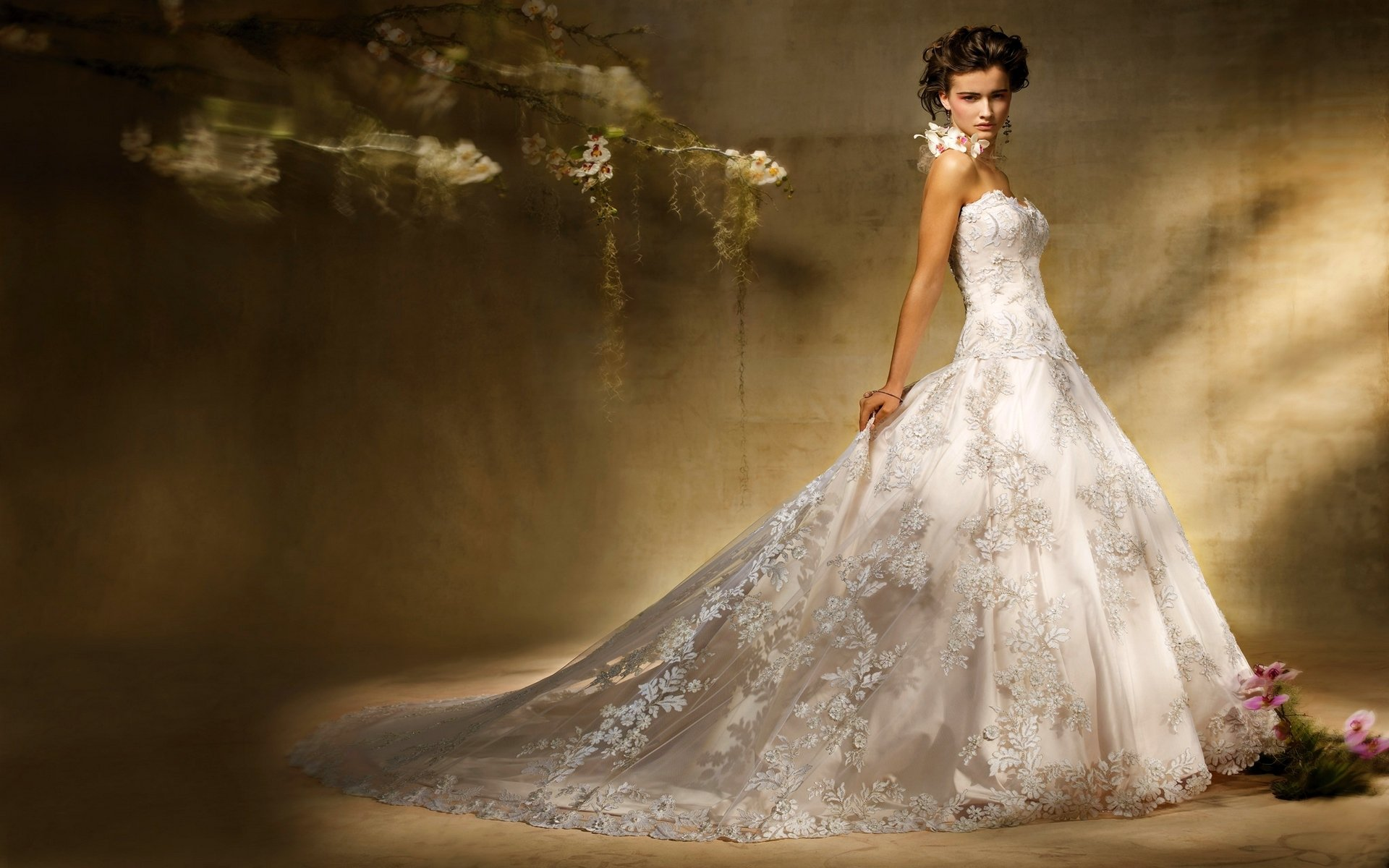 cheap wedding dresses wallpaper