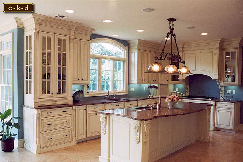 interior design decorating elegant kitchen cabinet island design ideas