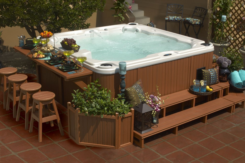 20 hot tubs for bathing relaxation for Cal spa gazebo