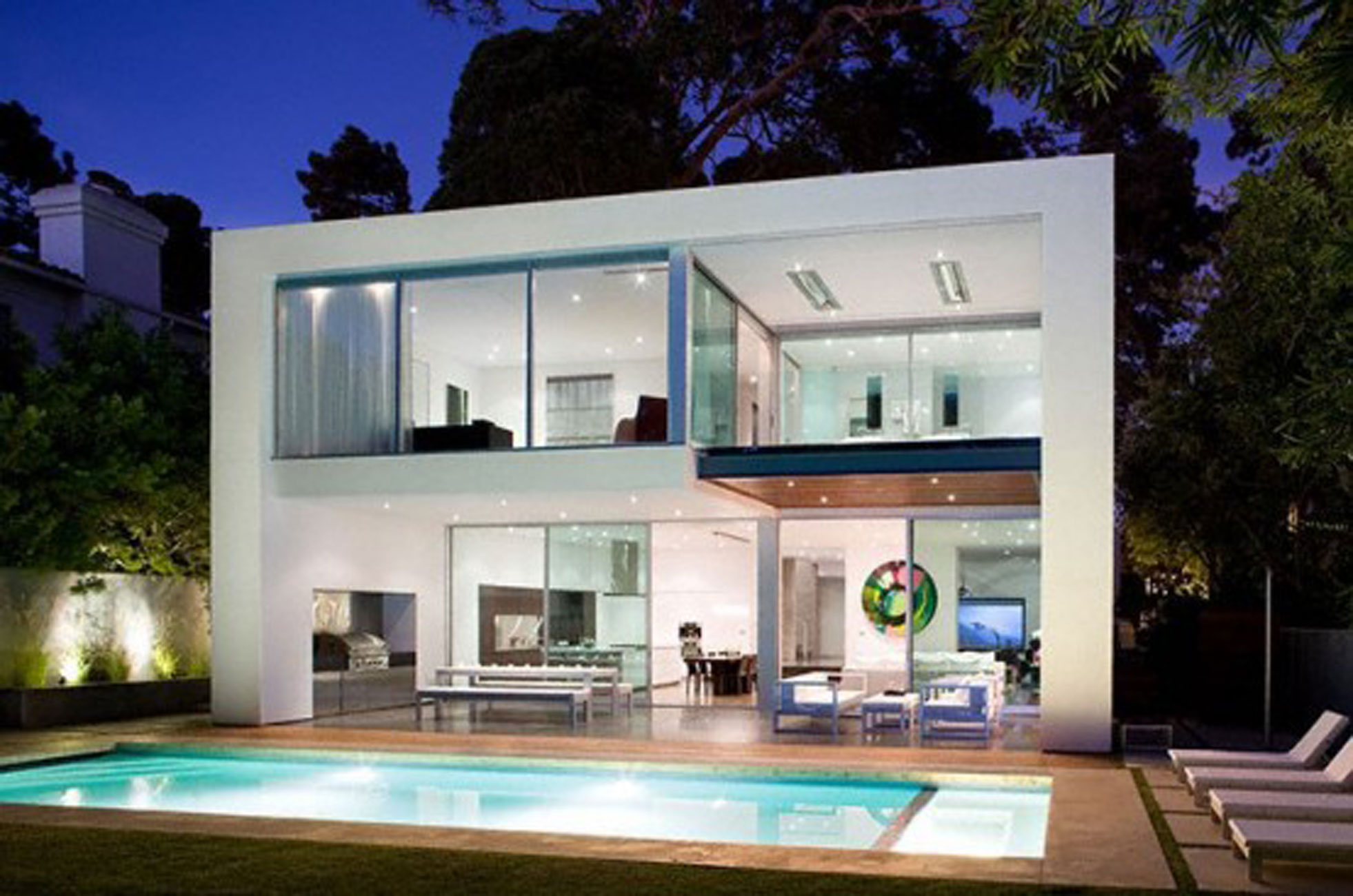 25 awesome examples of modern house for Modern mansion designs