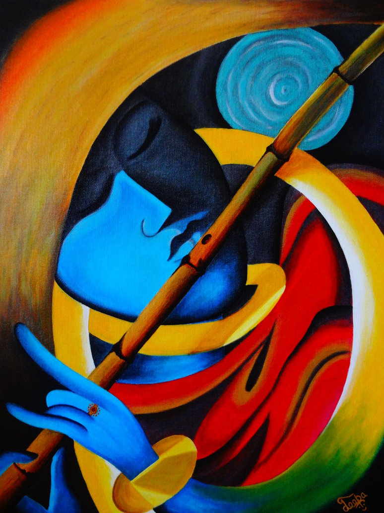 lord_krishna___harmony_of_life___modern_art__
