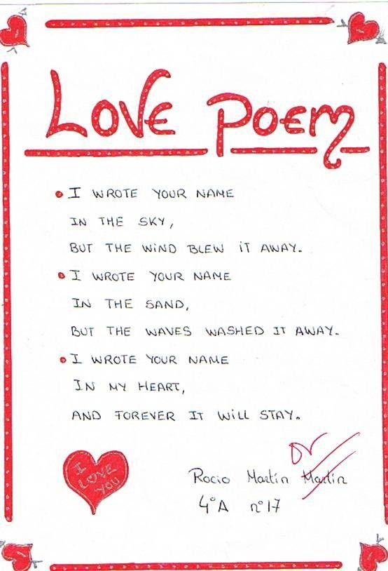 love poems for him.