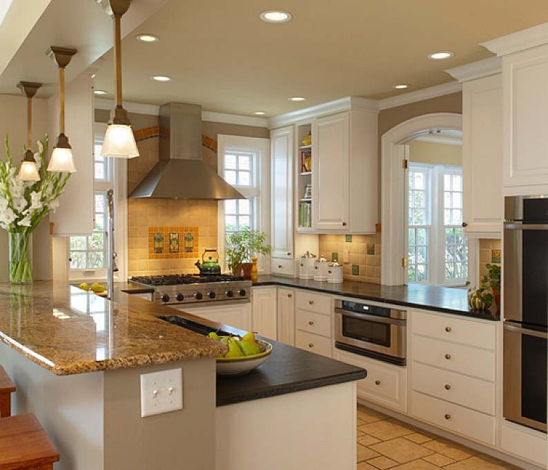 28 small kitchen design ideas for Kitchen inspiration ideas