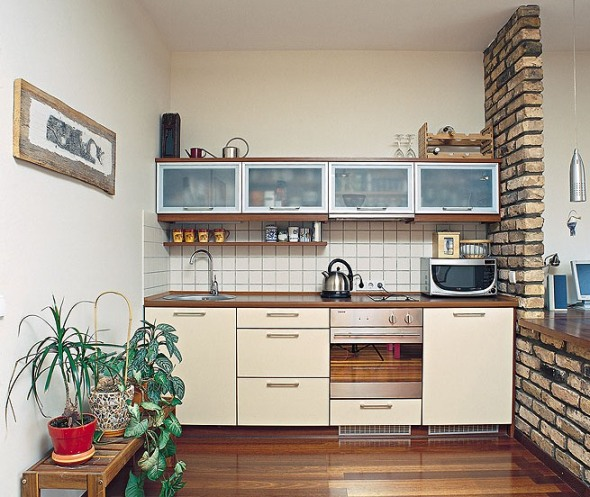 28 small kitchen design ideas for Small kitchen design ideas photo gallery