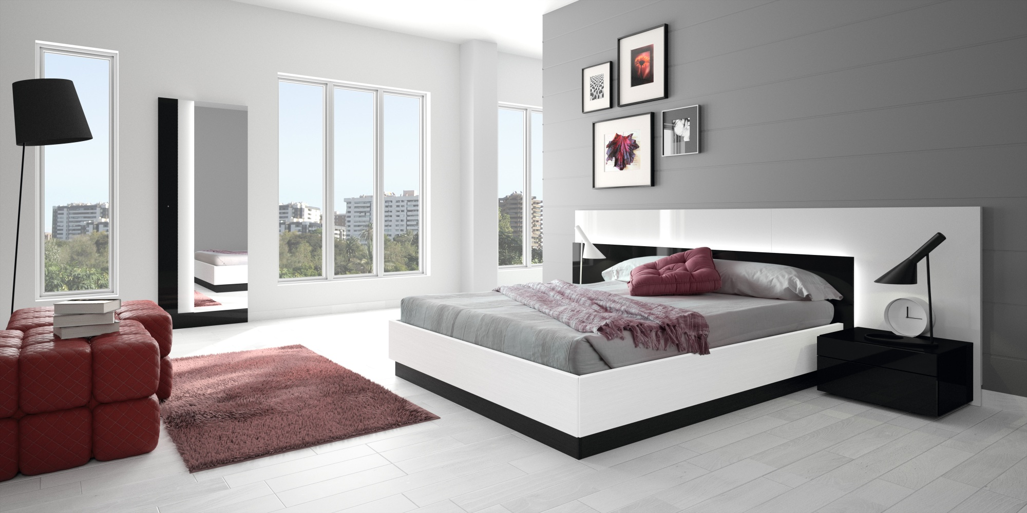 25 bedroom furniture design ideas for Modern bedroom interior