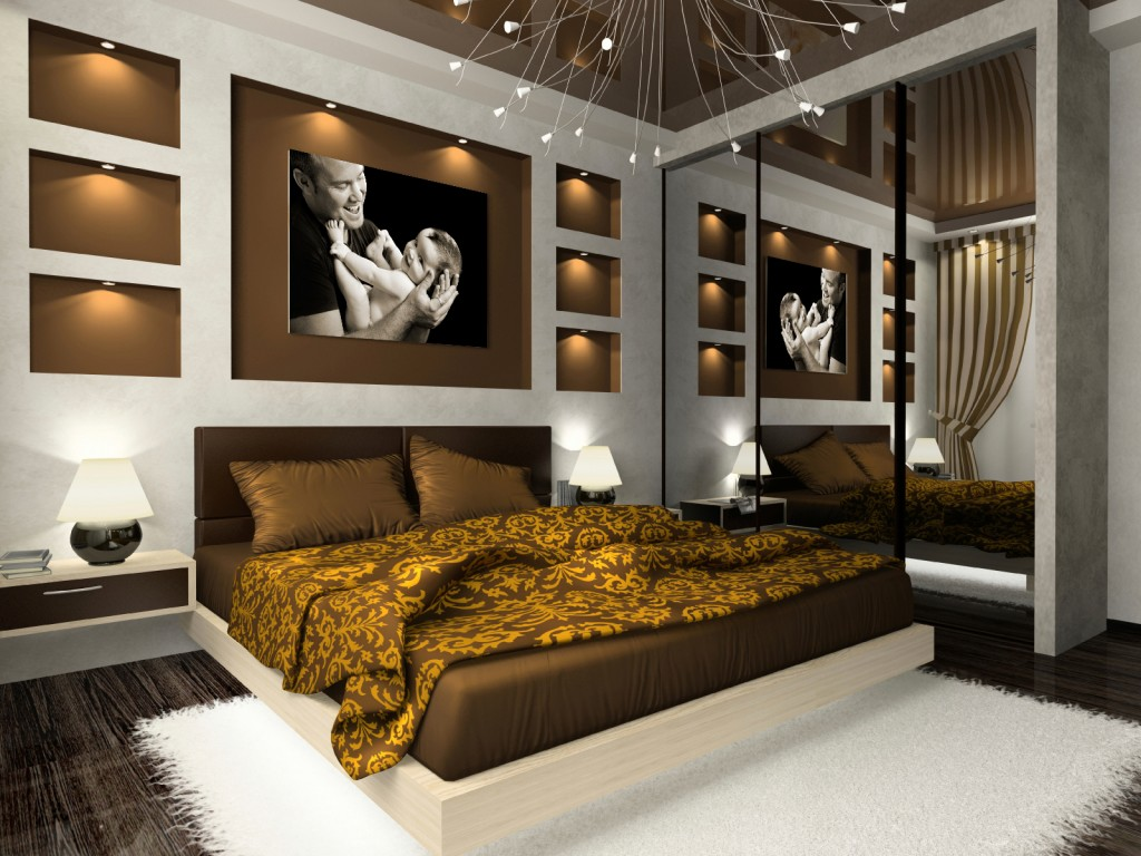 25 cool bedroom designs collection Cool master bedroom art