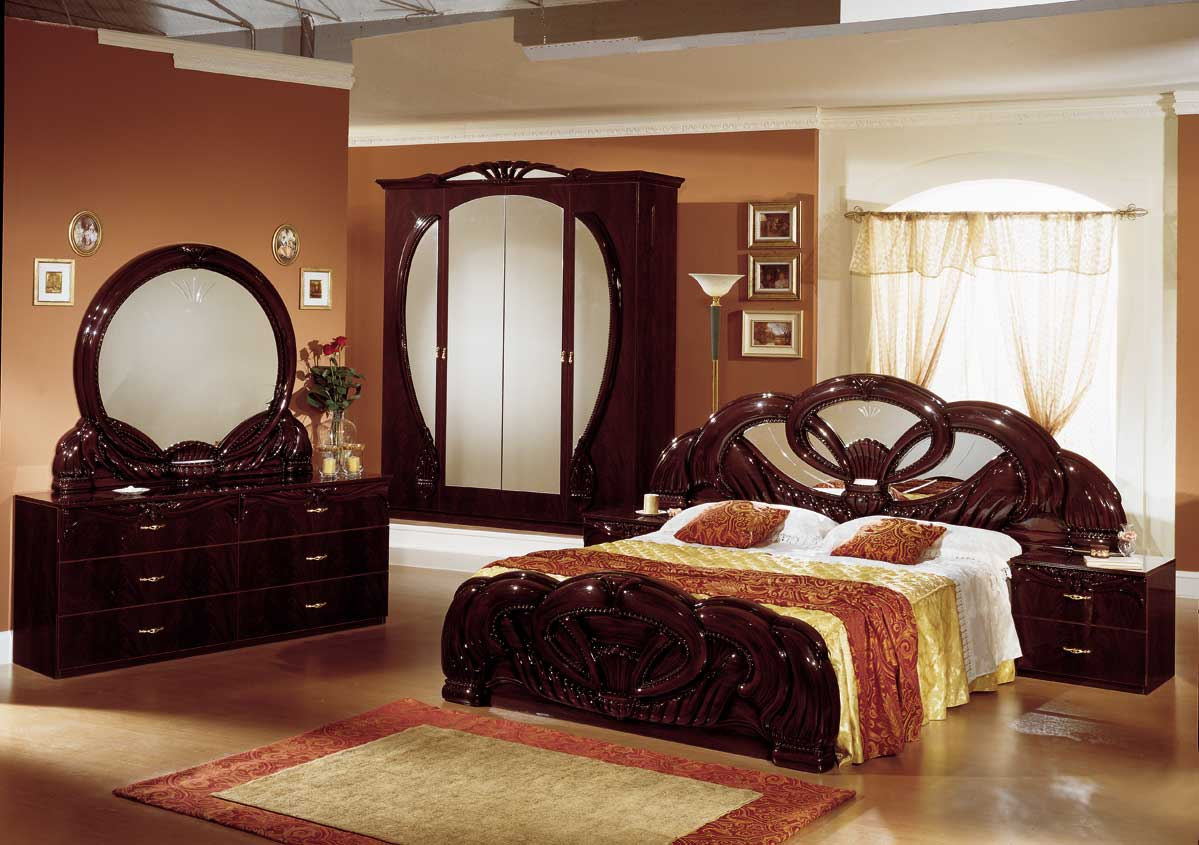 25 bedroom furniture design ideas for Wood bed design 2016
