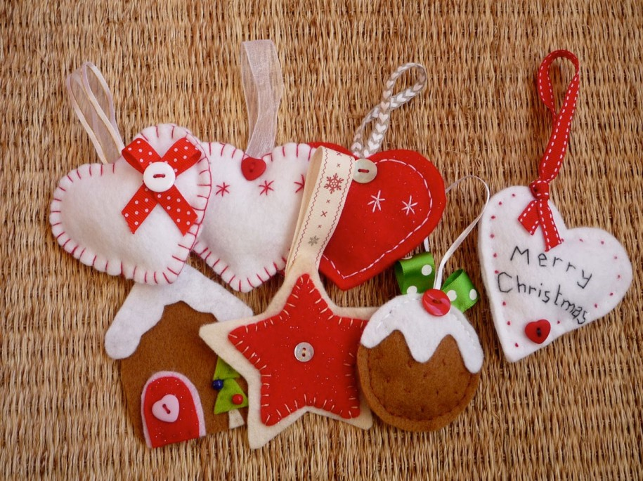 30 cute craft ideas for Christmas decoration ideas to make