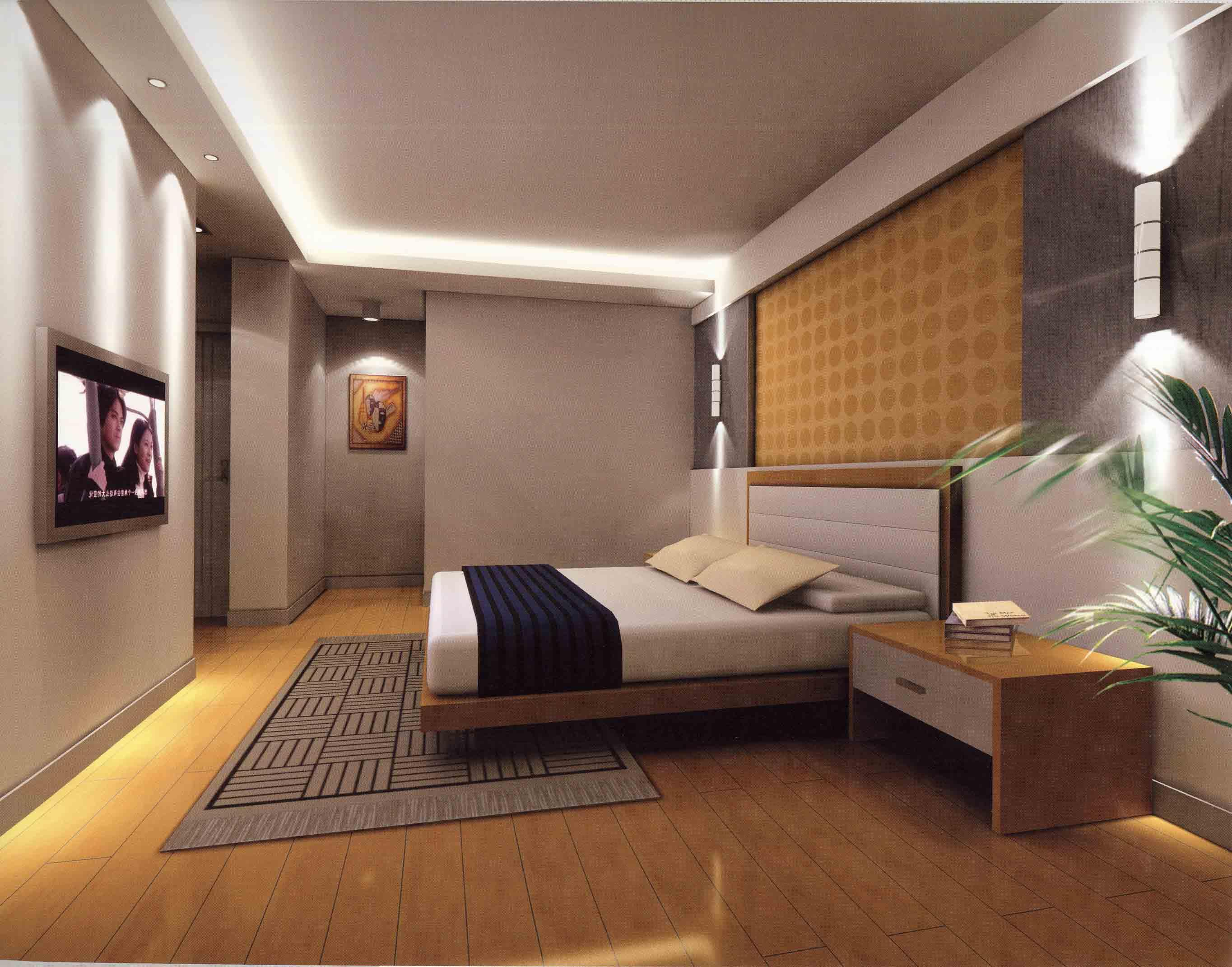 25 cool bedroom designs collection for Bedroom decor pictures