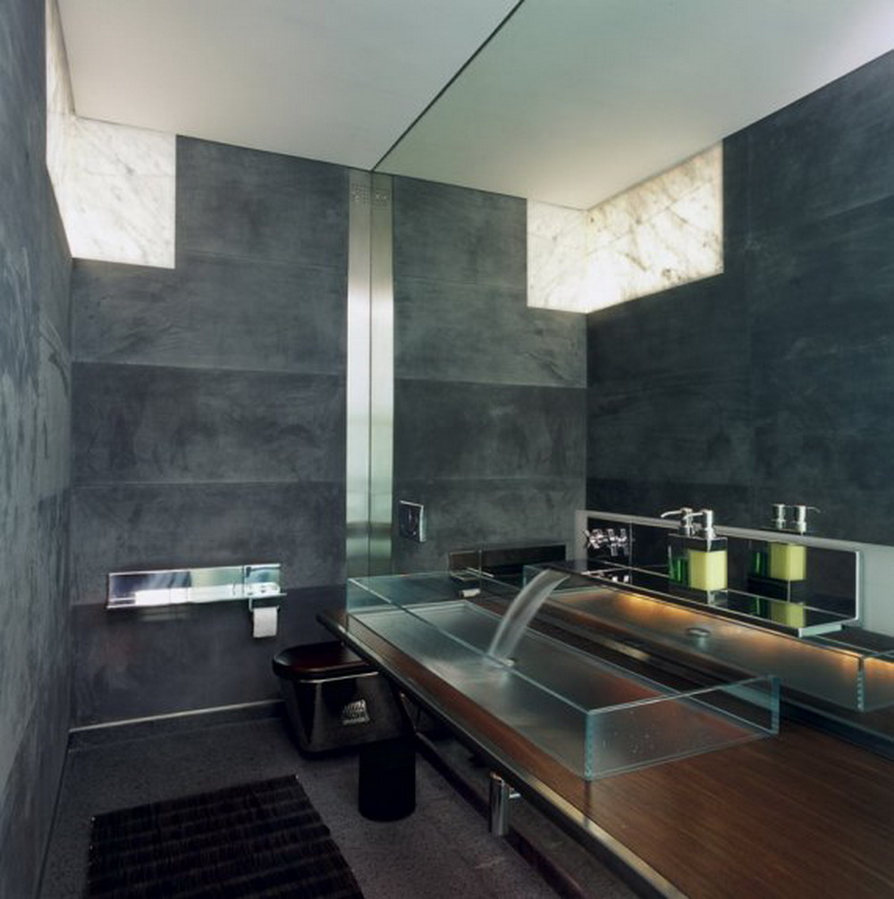 28 best contemporary bathroom design for Designer bathroom decor