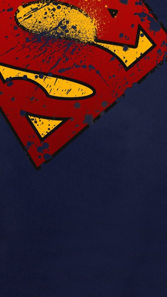 Superman-S-Shield-blue-phone-wallpaper-