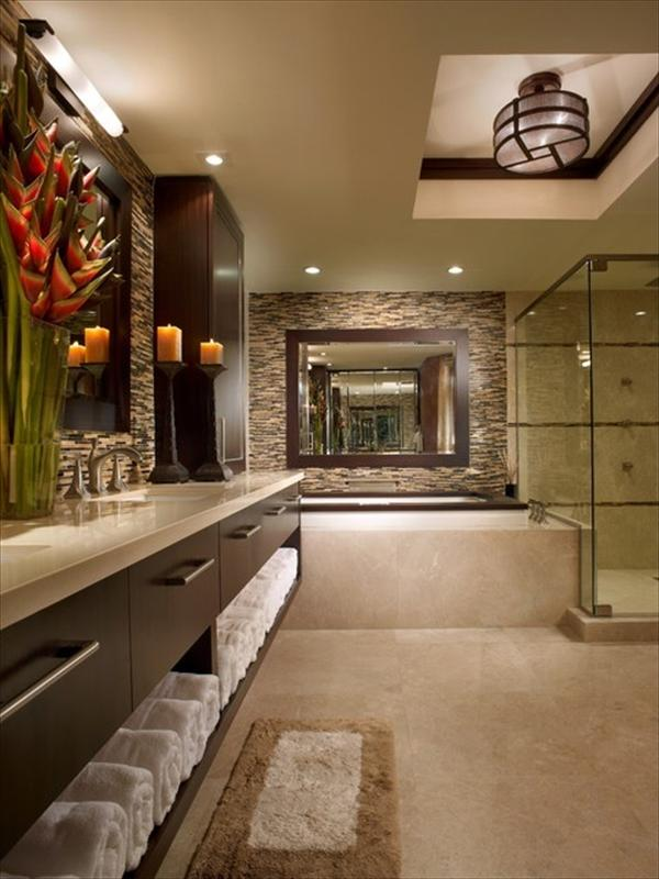 modern luxury bathrooms idea