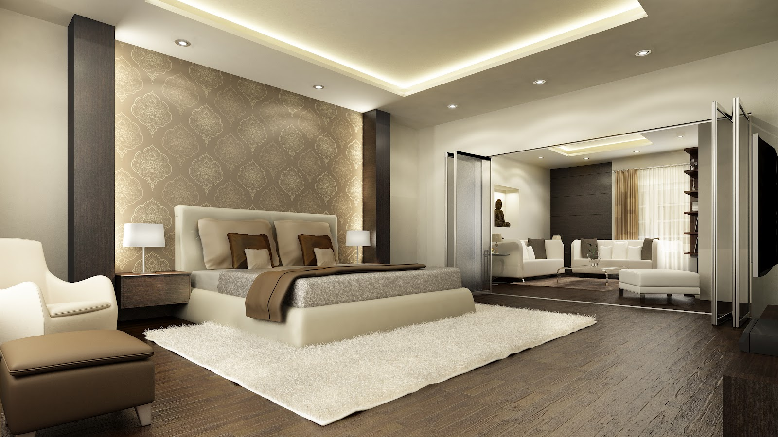 Bedroom design gallery for inspiration the wow style - Interior design for living room and bedroom ...