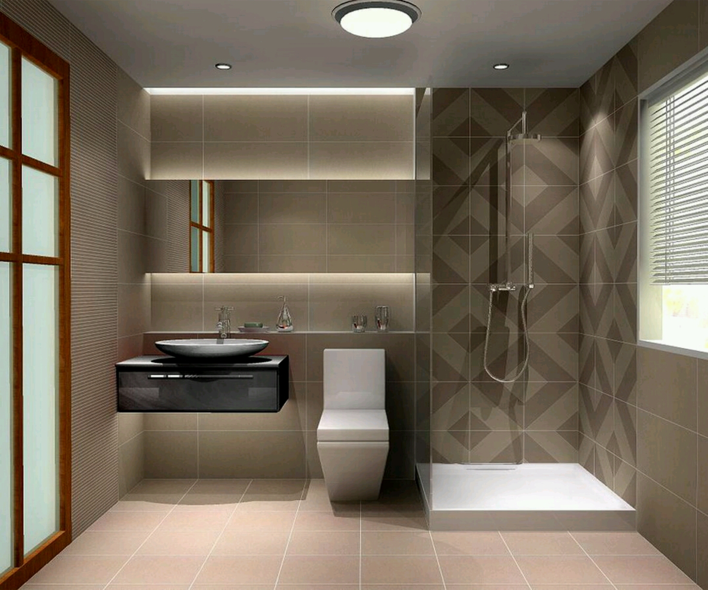 Contemporary Bathrooms Design