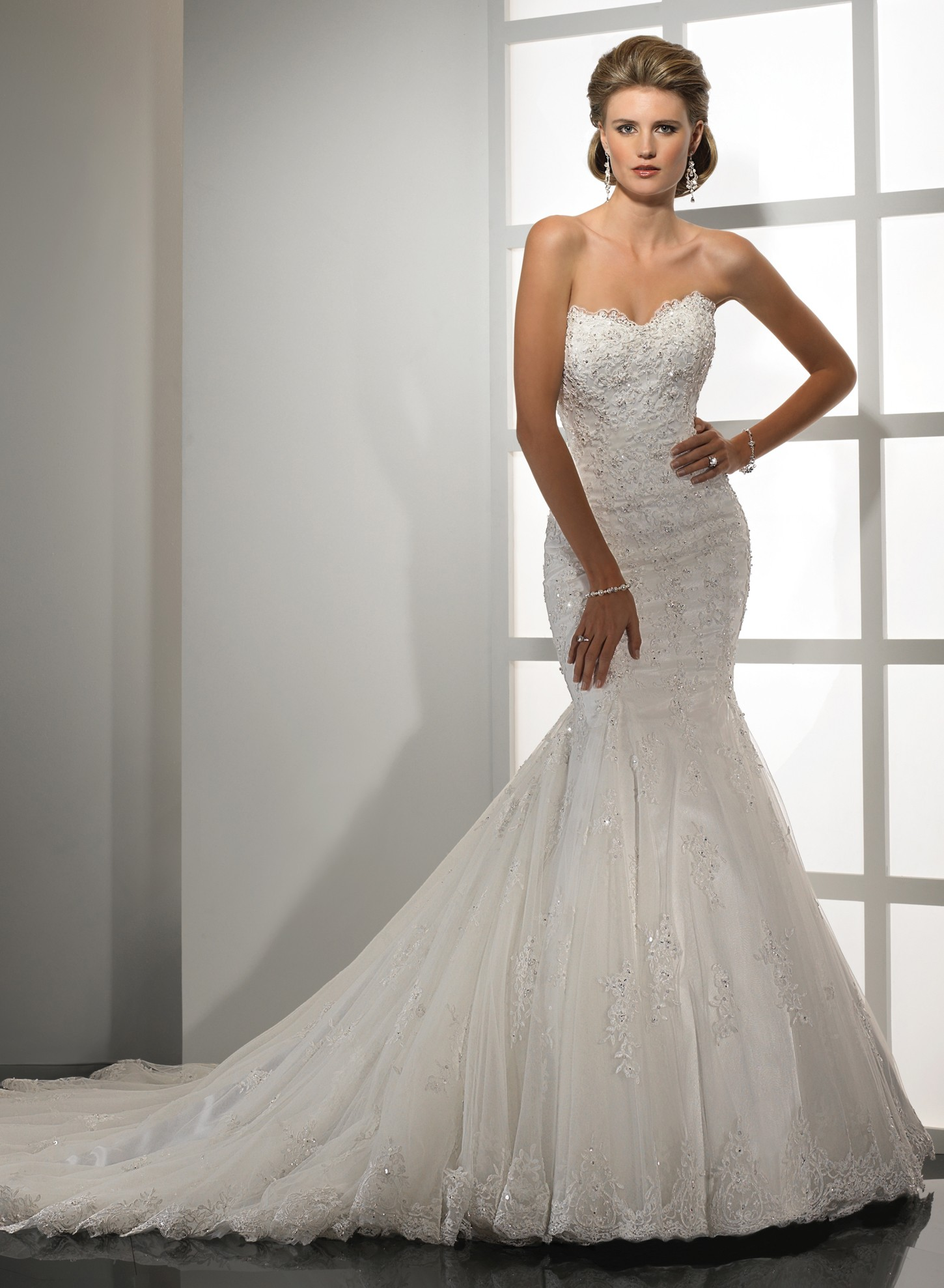 Mermaid Wedding Dress  Ideas 1