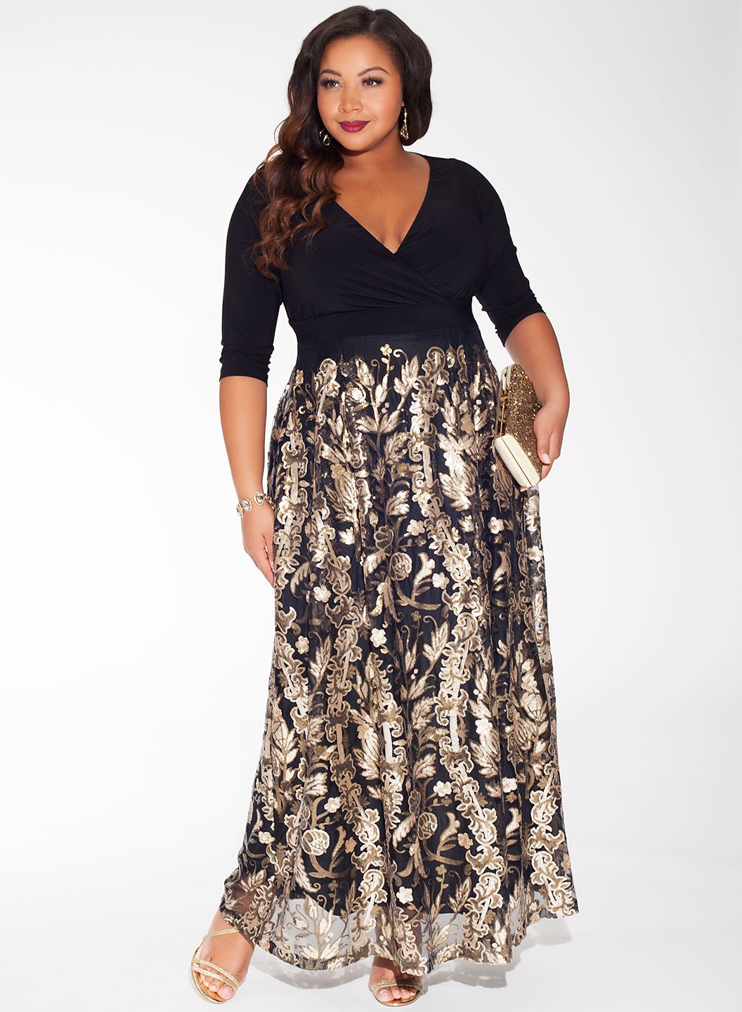 Elegant Plus Size Evening And Tail Dresses Gowns