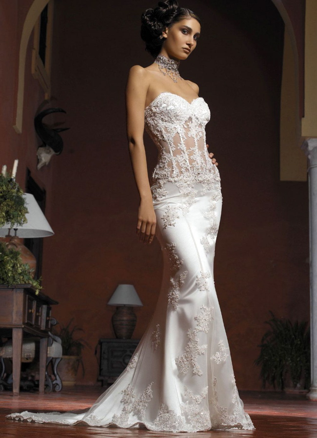 mermaid wedding dresses 2