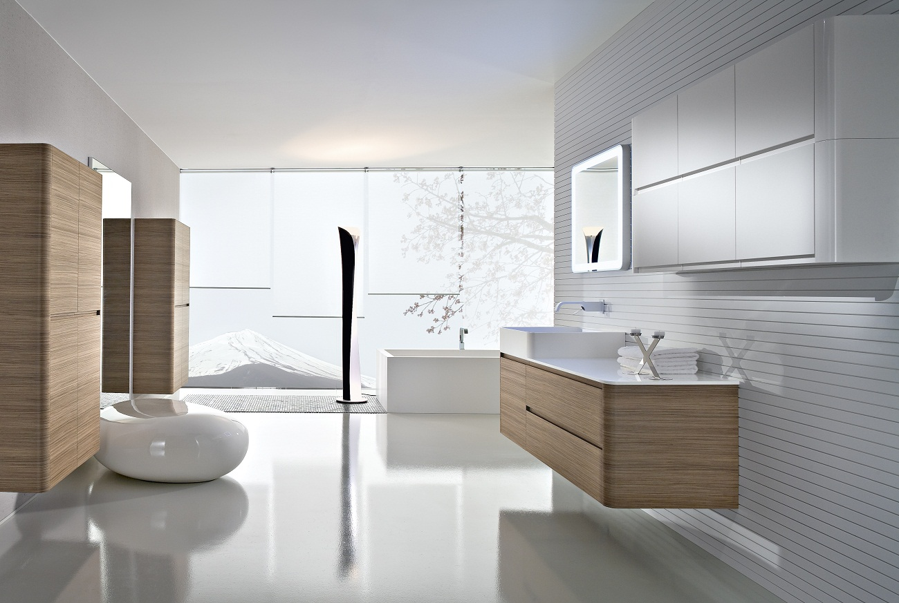 bathroom design modern inspiring house | 28 Best Contemporary Bathroom Design – The WoW Style