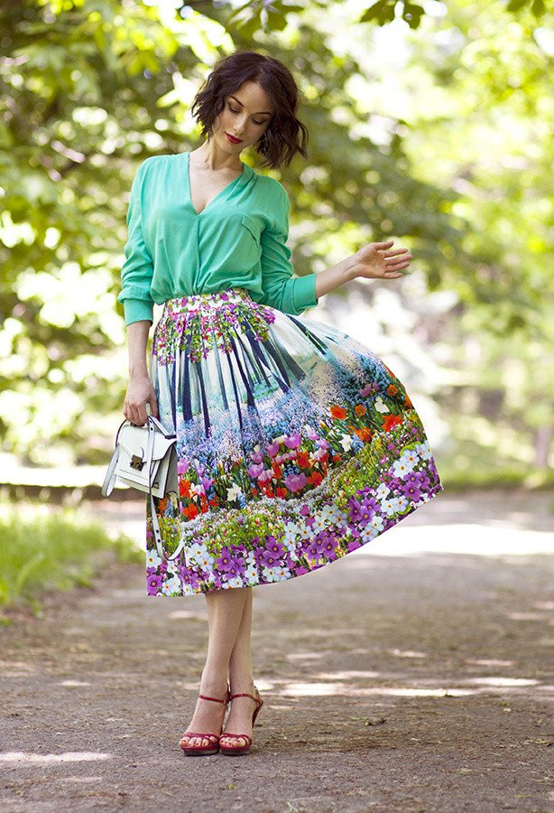 Green-Beautiful-Summer-Prints