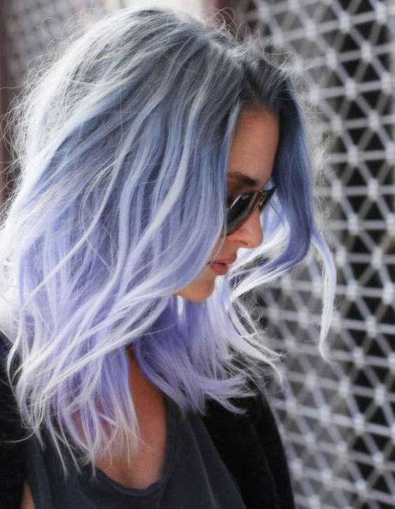 Coolest Pastel Hair Color