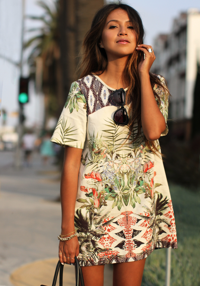 Cute Tropical Print Outfits