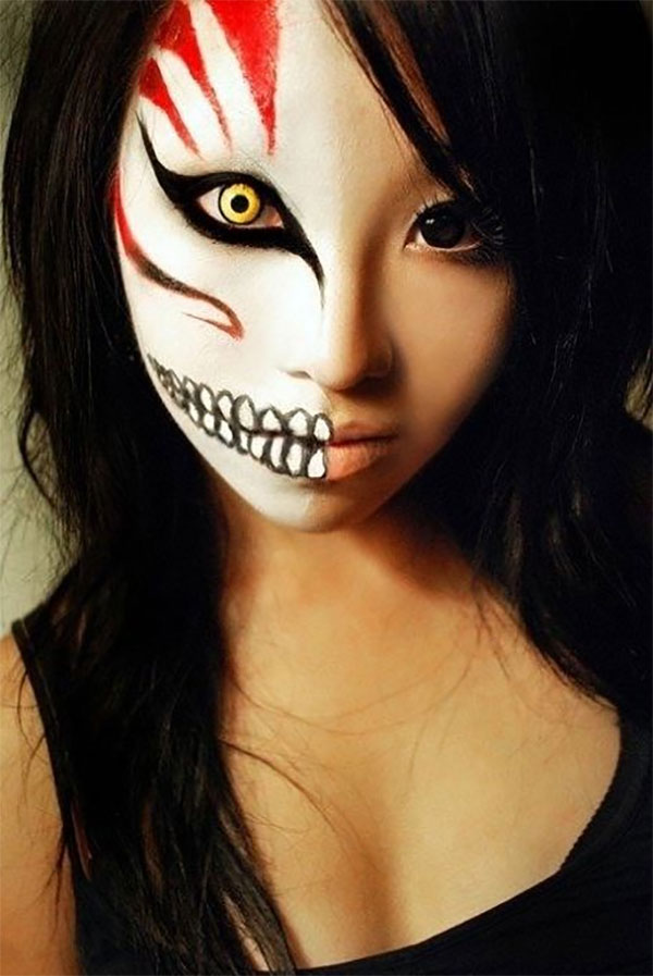 Animal Style Halloween Makeup