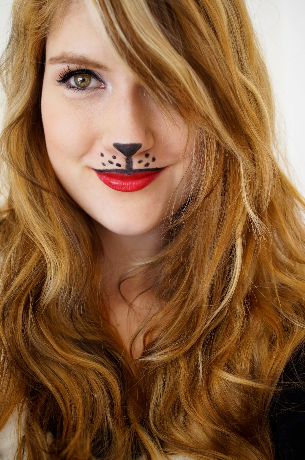 Cute Animal Halloween Makeup