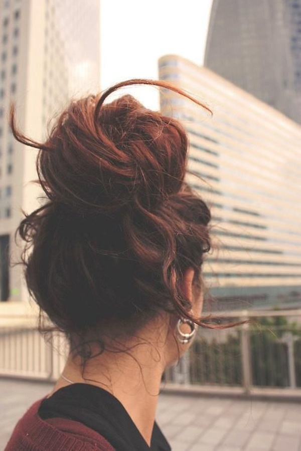 Easy-Bun-Hairstyles-for-Long-Hair